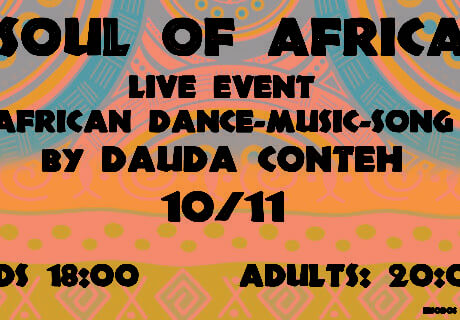 Soul of Africa, live event by Dauda Conteh